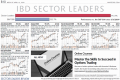 Investor's Business Daily Sector Leaders